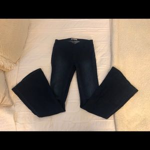 NWOT Free People Penny Pull On Flare Jeans